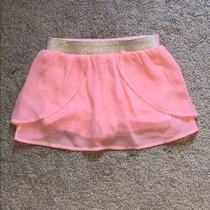Flirty Pink Skirt Size 12-18 mos